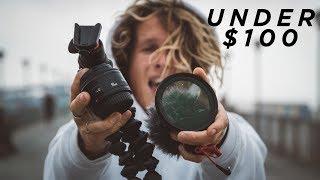 4 Filmmaking MUST Have BUDGET Accessories! (UNDER 100!)