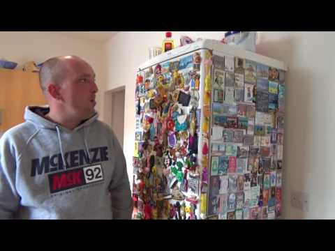 Jamie tells us about his collection of fridge magnets