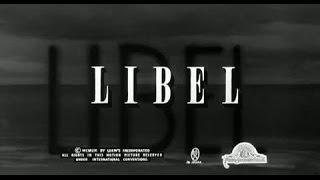 Libel - Feature Clip