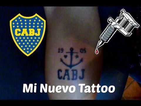 Mi Tatuaje De Boca Juniors Youtube
