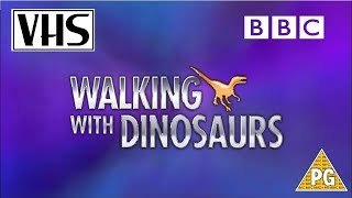 Closing to Walking with Dinosaurs: Part Two UK VHS (1999)