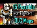 Top 15 Future DLC Maps We Want To See In Star Wars Battlefront 2