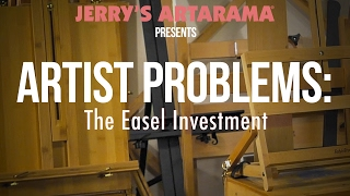 In what is our longest Artist Problems video to date, I try and tackle the easel investment. I don