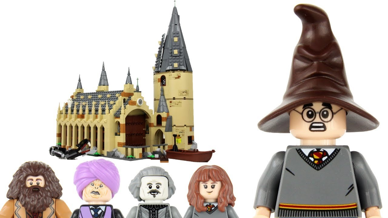 LEGO Professor Minerva McGonagall HARRY POTTER set 75954 Great Hall NEW!