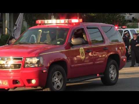 The 2017 Ossining Volunteer Fire Department Parade