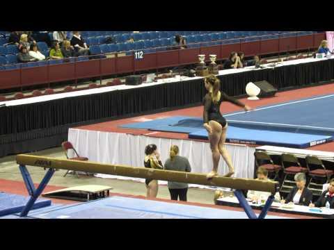 Jordan Williams 2017 Zenith Gymnastics Beam Metroplex Challenge 2014