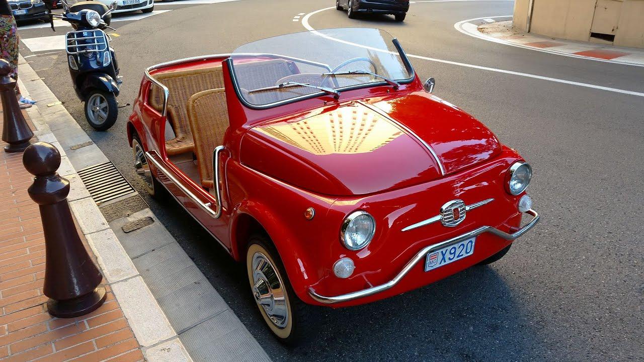 Fiat 500 Ghia Jolly A Monaco