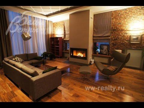 Современный дом в поселке Променад, Киевское шоссе, Новая Москва
