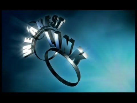 Weakest Link - Teachers Special - 7th September 2001