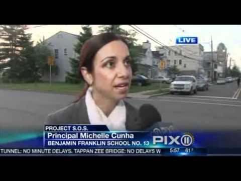Benjamin Franklin School No 13 In Action On Channel 11