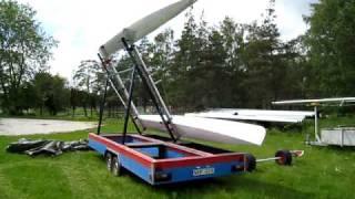 Tornado catamaran trailer