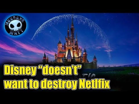 Disney claims it doesn't want to destroy Netflix
