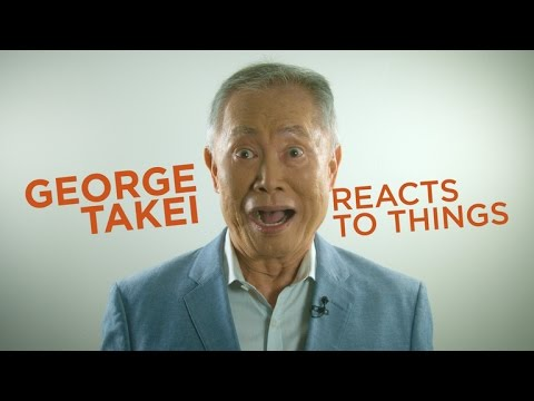 George Takei Reacts To Things
