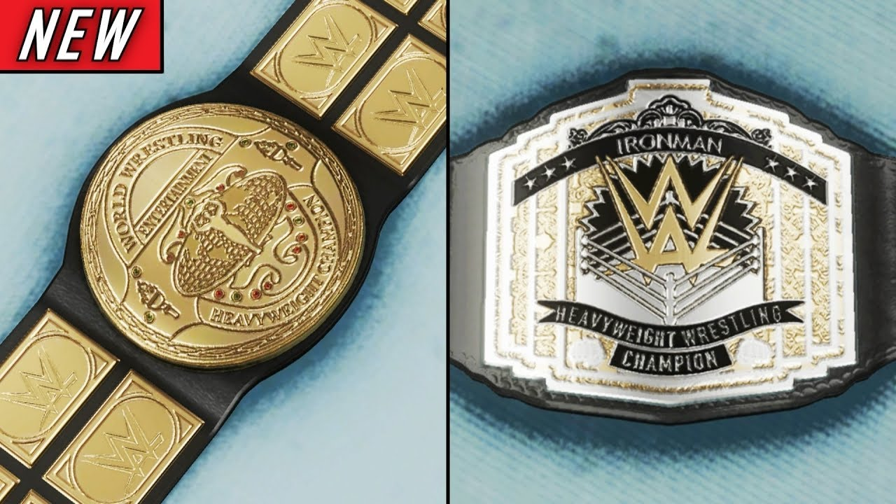 The BEST Custom Championships EVER In WWE 2K19 #10