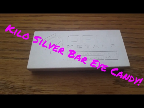 Silver Kilo Eye Candy: Smart Finance Buy Silver Sure Beats Stocks