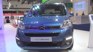Citroën Berlingo Multispace BlueHDi 100 Stop&Start Selection (2016) Exterior and Interior in 3D(Citroën Berlingo Multispace BlueHDi 100 Stop&Start Selection car, model 2016 seen in 3D. The vehicle has 1560 cc Euro 6 engine, 73 kW (99 hp) at 3750 rpm., 2015-09-27T08:17:49.000Z)