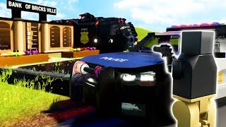 LEGO COPS AND ROBBERS! - Lego Brick Rigs Gameplay Roleplay - Lego Police Chase!