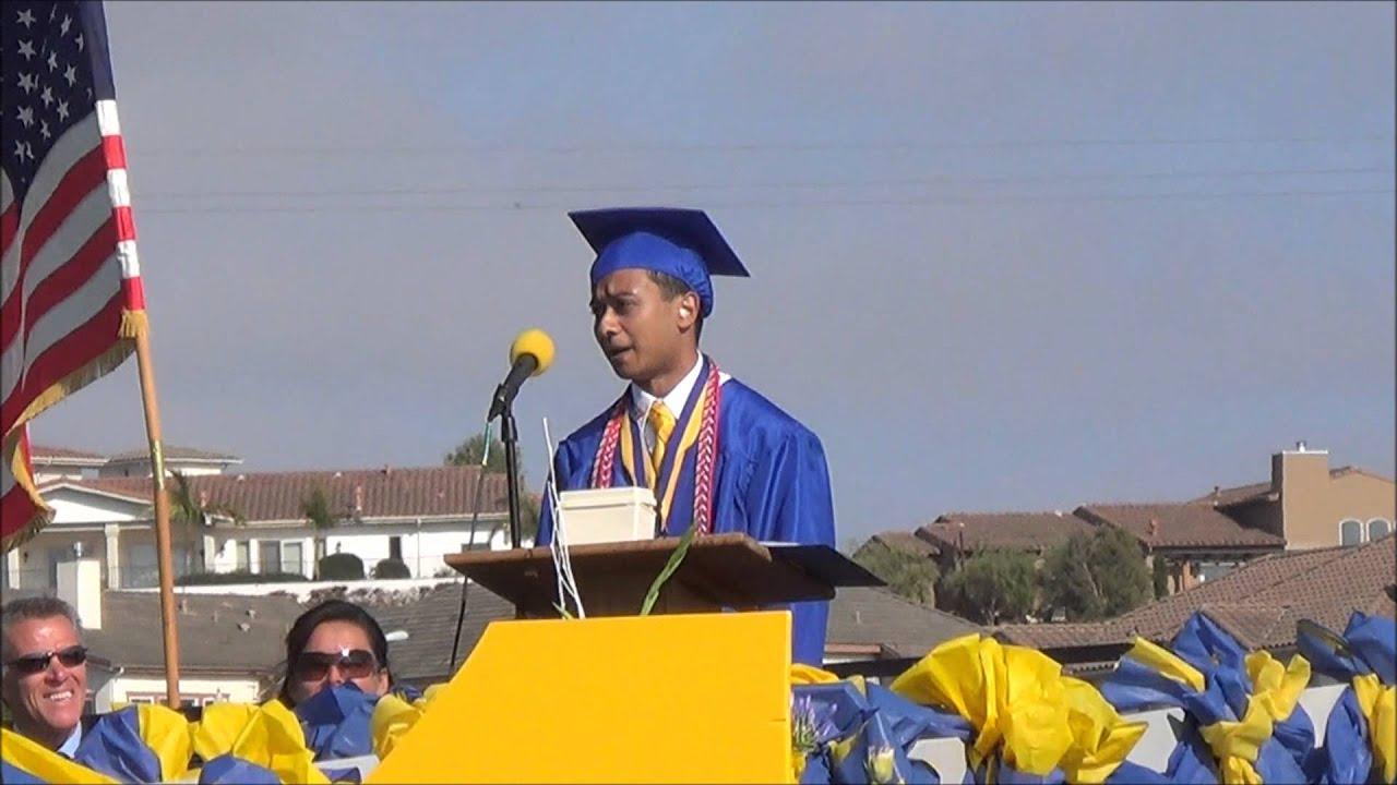 high school graduation speech to daughter