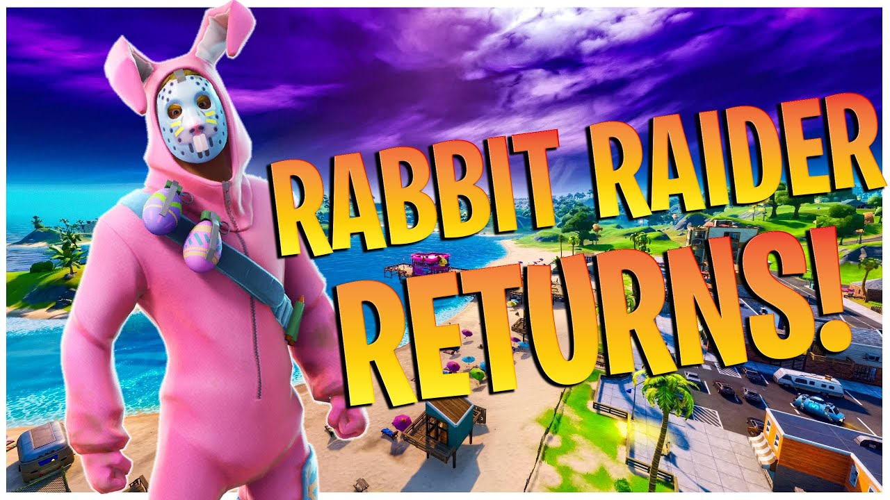 PINK BUNNY RETURNS!!! - Fortnite Battle Royale