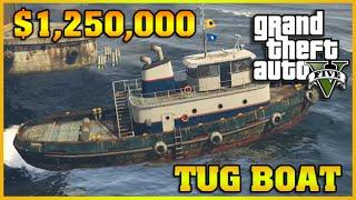 TUG BOAT | Finance and Felony | GTA 5 Online DLC