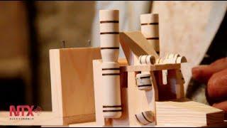 Artesanía de madera, una mezcla de riesgos y fortunas