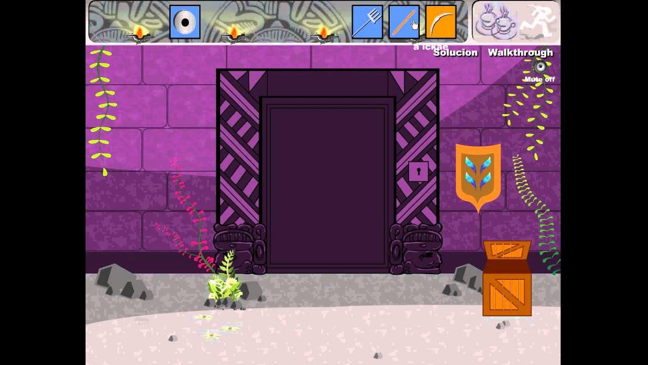 Aztec Temple Game