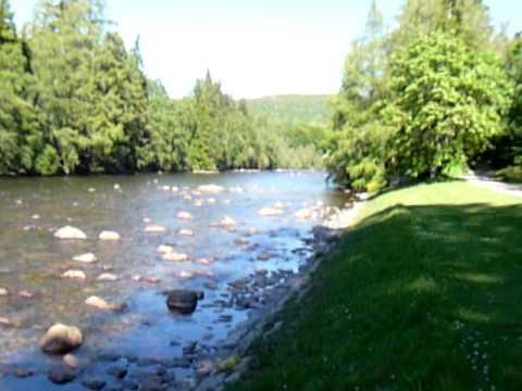 River Dee at Balmoral, Scotland.
