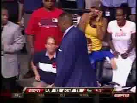 [2008.07.21] ESPN2 Los Angeles Sparks And Detroit Shock - Infamous WNBA Brawl