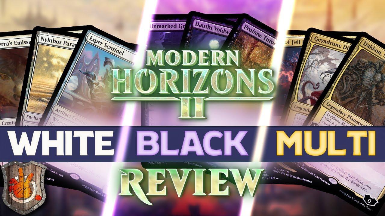 MH2 - White, Black & Multicolored Review   The Command Zone #401   Magic: The Gathering EDH