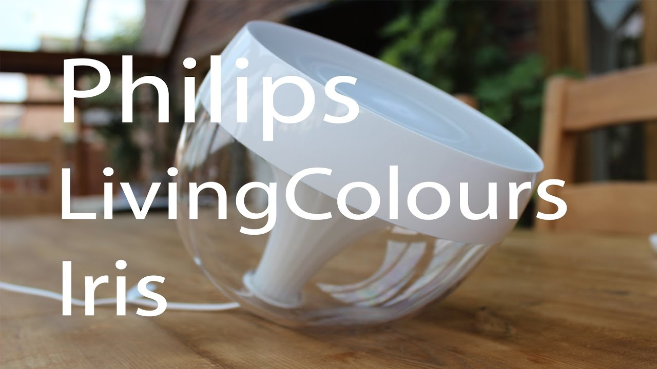 Philips LivingColors Iris Mood Light Review
