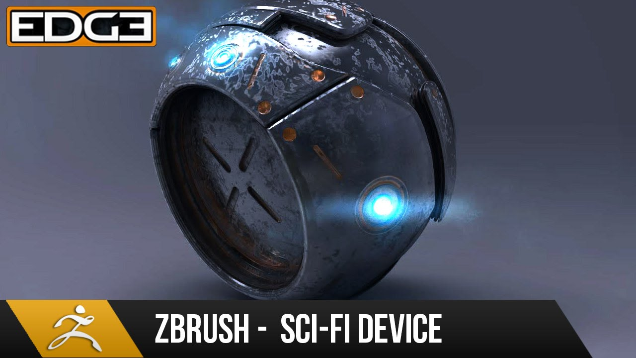 Zbrush 4r7 Tutorial Hard Surface Techniques Sci Fi Device