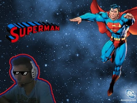 Arcade Games | Superman (c/facecam)