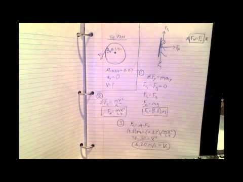 circular motion worksheet problem 10 youtube. Black Bedroom Furniture Sets. Home Design Ideas