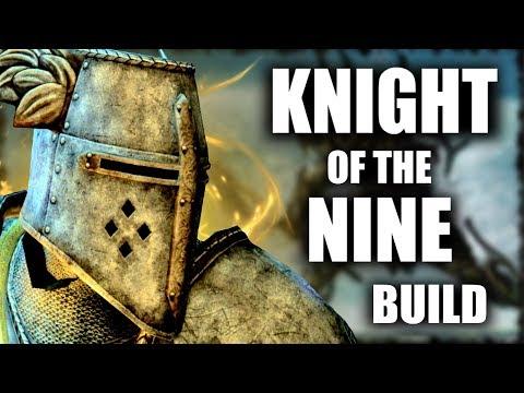 Skyrim SE Builds - The Divine Crusader - Knights of the Nine Modded Build