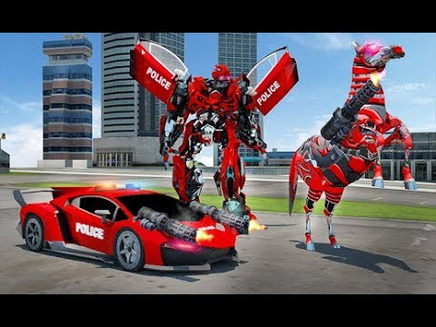 US Police Multi Robot Transform: Wild Horse Games (By Tekbash) Gameplay HD