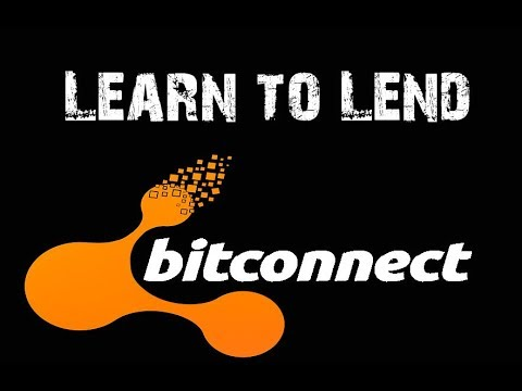 Bitconnect Lending 2018