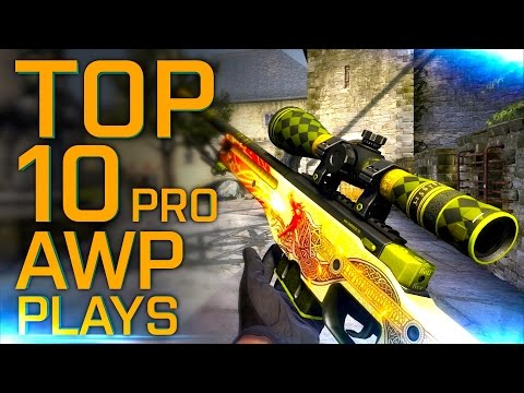 "CS:GO | TOP 10 PRO AWP PLAYS OF ALL THE TIME! - ""How does he do this?!''"