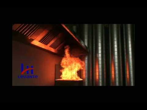 Sistema de extinci n de incendios para campanas de cocinas - Campanas de cocina rusticas ...