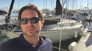 C&C 37 Sailboat Video Walkthrough By: Ian Van Tuyl