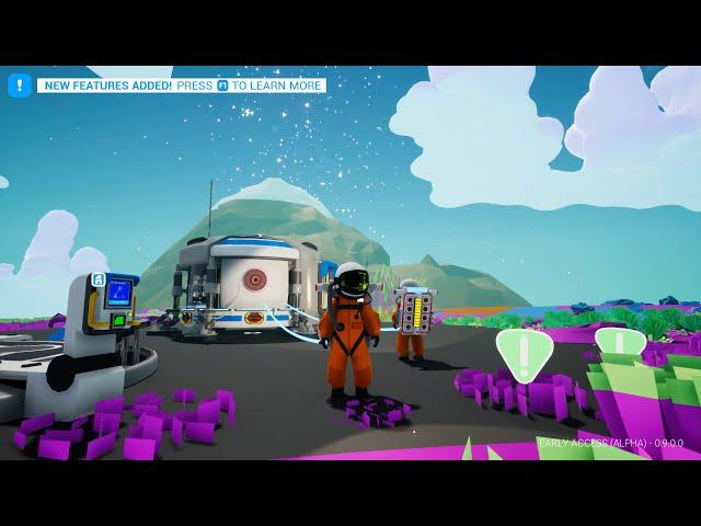 ASTRONEER #1 - Game Sinh Tồn Trên Vũ Trụ, Mình Biết Sơ Sơ Roài! ^_^