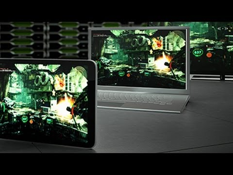 NVIDIA Grid - Battlefield 3 Demo - CES 2013