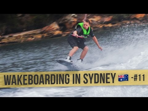 WAKEBOARDING BY SYDNEY HARBOUR | 🇦🇺 Australia Daily Vlog #11