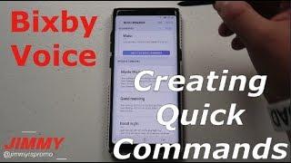 Bixby Voice - QUICK COMMANDS: In-depth TUTORIAL [Note8 & GS8]