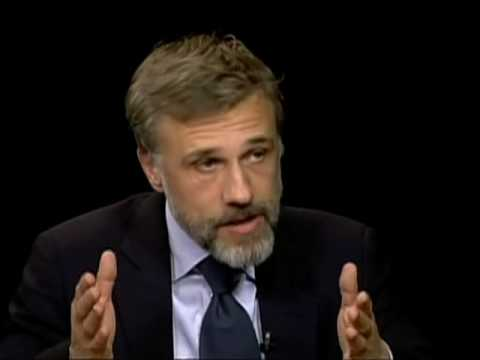 Christoph Waltz on Charlie Rose Part 1