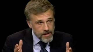 Christoph Waltz on Charlie Rose (Part 1)