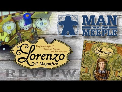 Lorenzo il Magnifico (Cranio Creations) Review by Man Vs Meeple