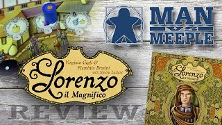 Lorenzo il Magnifico (Cranio Creations) Review by Man Vs Meeple