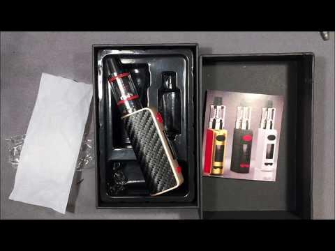 Opening a QAZ 80W Vape Kit