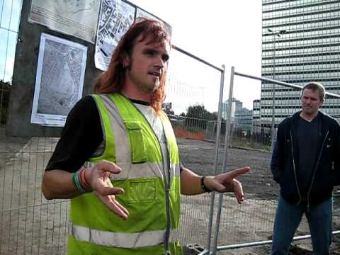 Part 1 - Angel Street Excavation in Manchester by Oxford Archaeology North - 10/10/09