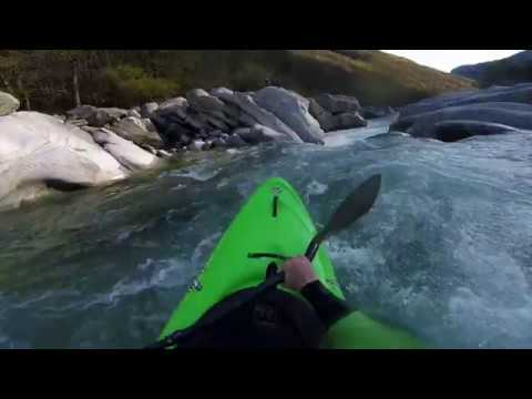 Continuing The Kayaking Season On The Verzasca